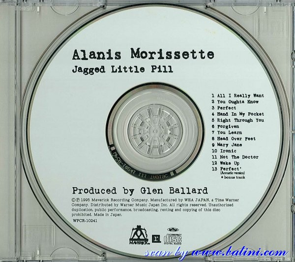 Bilbo S Alanis Morissette Japan Cd