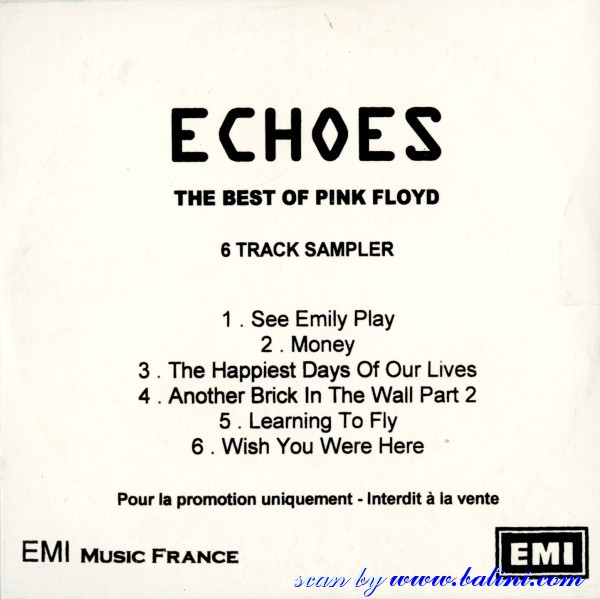 Pink floyd echoes the best of - Can vita
