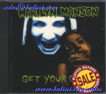 MARILYN MANSON - Get your gunn - MCD